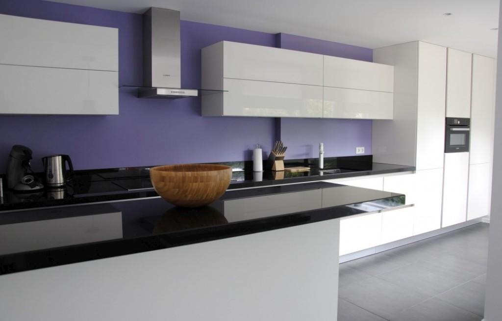 Moderne keuken met of zonder kleur
