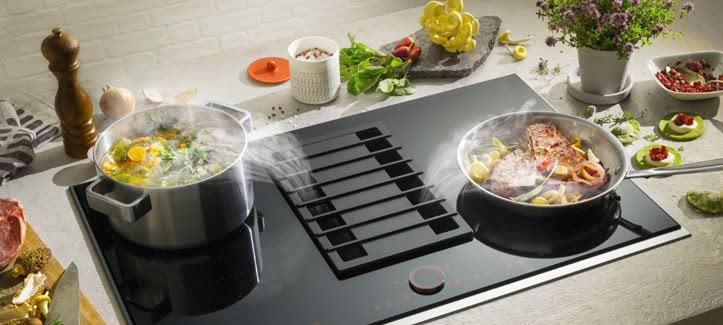 Kookplaat met afzuiging van Neff