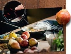 Inductie kookplaat van Neff met automatic airsensor